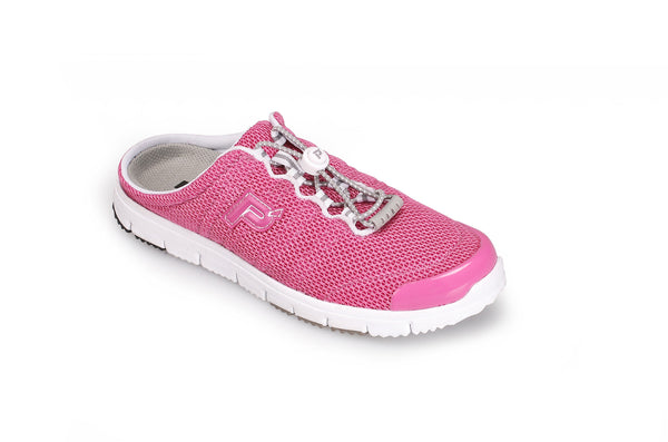 Fuchsia Mesh Propet W3230 TravelWalker Slide Women's Shoe- Diabetic Shoes
