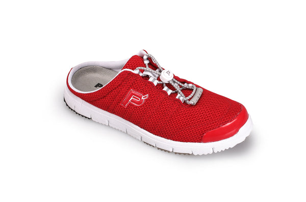 Red Mesh Propet W3230 TravelWalker Slide Women's Shoe- Diabetic Shoes
