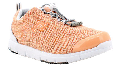 Peach Mesh Propet W3239 TravelWalker II Women's Shoe- Diabetic Shoes