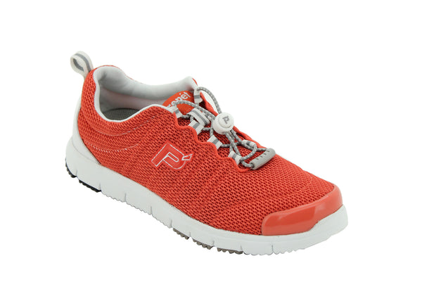 Coral Propet W3239 TravelWalker II Women's Shoe- Diabetic Shoes
