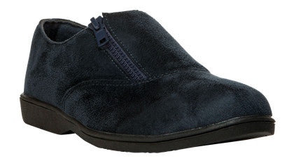 Indigo Velour Propet W3240 Shannon Women's Shoe- Diabetic Shoes
