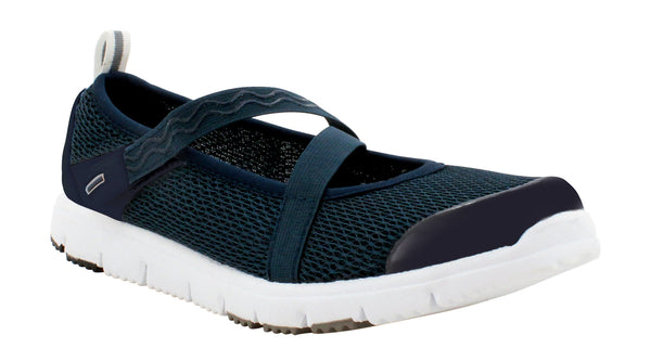 Navy Propet W3242 TravelWalker Mary Jane Women's Shoe- Diabetic Shoes