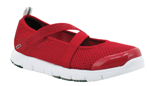 Red Propet W3242 TravelWalker Mary Jane Women's Shoe- Diabetic Shoes