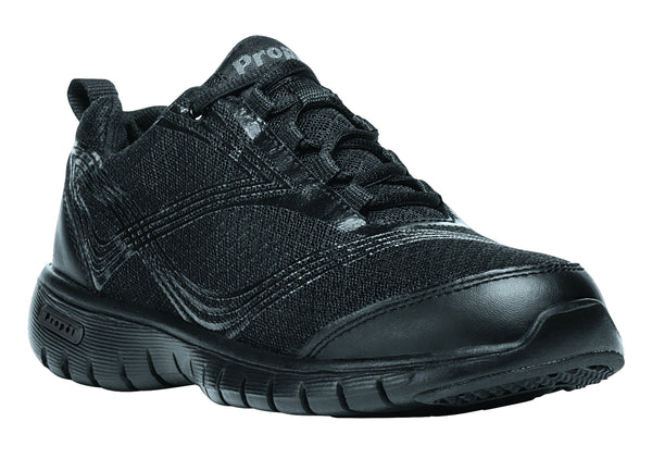 All Black Propet W3247 TravelLite Women's Shoe- Diabetic Shoes
