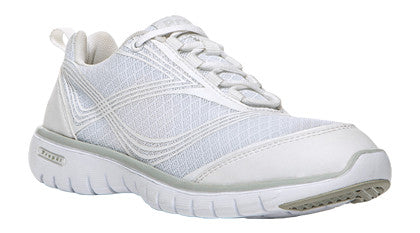 White Propet W3247 TravelLite Women's Shoe- Diabetic Shoes