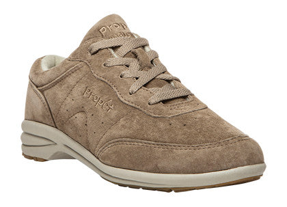 Classic Taupe Propet W3841 Washable Walker Suede Women's Shoe- Diabetic Shoes