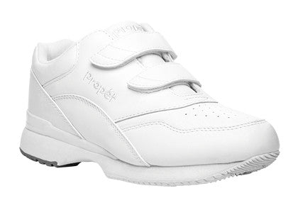 White Propet W3902 Tour Walker Women's Shoe (Hook-and-Loop)- Diabetic Shoes