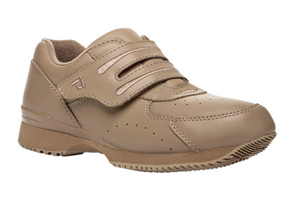 Taupe Propet W3905 Tour Walker II Women's Shoe (Hook-and-Loop)- Diabetic Shoes