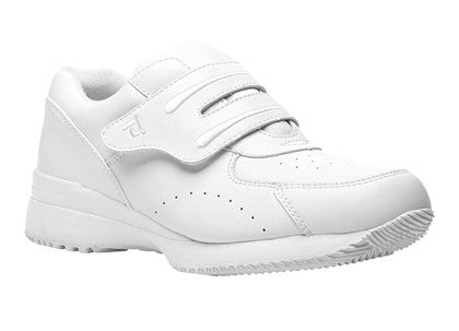 White Propet W3905 Tour Walker II Women's Shoe (Hook-and-Loop)- Diabetic Shoes