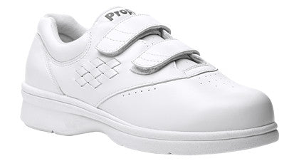 White Propet W3915 Vista Women's Shoe (Hook-and-Loop)- Diabetic Shoes