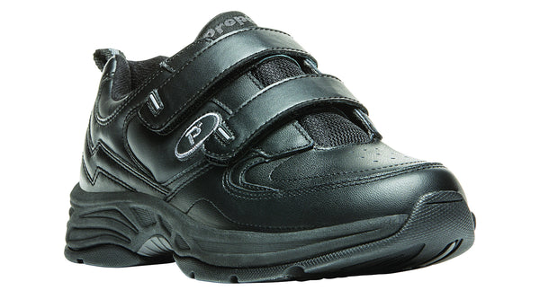 Black Propet W5500 Eden Women's Shoe (Hook and Loop)- Diabetic Shoes