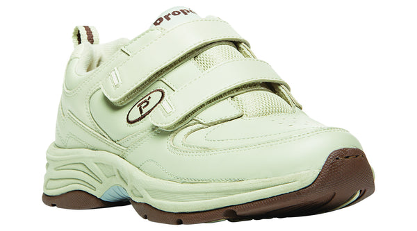 Sport White Propet W5500 Eden Women's Shoe (Hook and Loop)- Diabetic Shoes