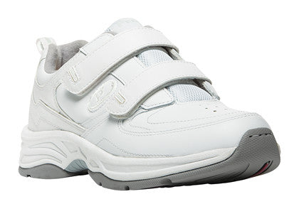 White Propet W5500 Eden Women's Shoe (Hook and Loop)- Diabetic Shoes