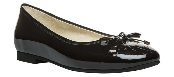 Black Patent Propet W8100 Emma Women's Shoe -Diabetic Shoes