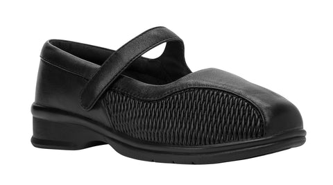 Black Propet WPRX12 Erika Women's Shoe- Diabetic Shoes
