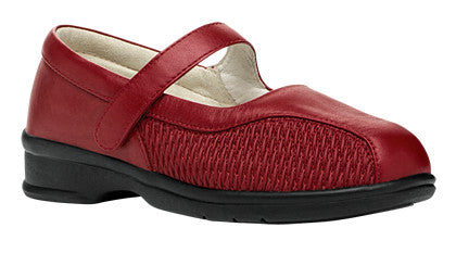 Chili Red Propet WPRX12 Erika Women's Shoe- Diabetic Shoes
