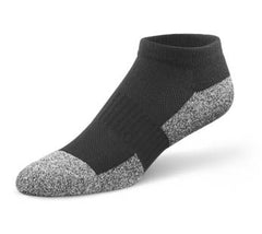 Dr. Comfort Black No Show Sock