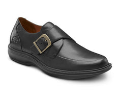 Dr. Comfort Black Leader Men's Dress Shoe | Diabetic Shoes | Orthopedic Shoe