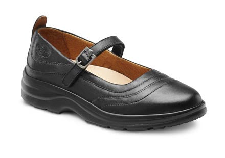 Dr. Comfort Black Women's Dress Shoe | Diabetic Shoes | Orthopedic Shoe