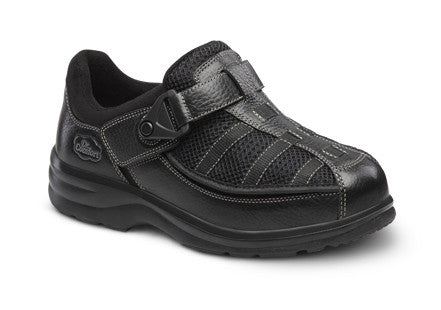 Dr. Comfort Black Lucie-X Women's Casual Shoe | Diabetic Shoes | Orthopedic Shoe