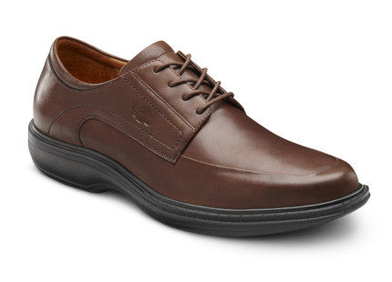 Dr. Comfort Chestnut Classic Men's Shoe | Diabetic Shoes | Orthopedic Shoe