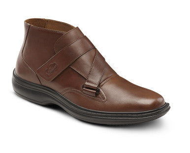 Dr. Comfort Brown Joseph Men's Shoe | Diabetic Shoes | Orthopedic Shoe