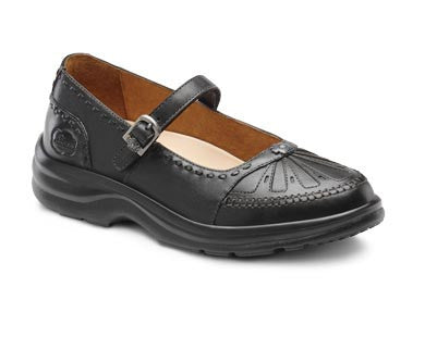 Dr. Comfort Black Paradise Women's Dress Shoe | Diabetic Shoes | Orthopedic Shoe