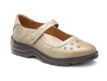 Dr. Comfort Light Gold Sunshine Women's Dress Shoe | Diabetic Shoes | Orthopedic Shoe