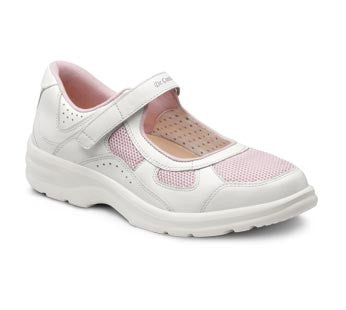 Dr. Comfort Pink Susie Women's Casual Shoe (Velcro) | Diabetic Shoes | Orthopedic Shoe