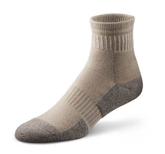 Dr. Comfort Sand Ankle Sock | Diabetic Sock | Orthopedic Sock