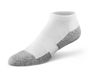 Dr. Comfort White No Show Sock