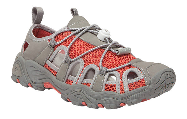 Coral/Grey Propet W03004 Discovery Women's Shoe- Diabetic Shoes