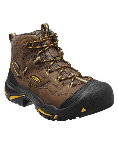 Keen Utility Braddock Waterproof Steel Toe - Cascade Brown/Tawny Olive - Built in USA