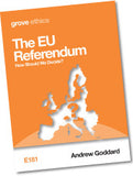E 181 The EU Referendum: How Should We Decide?