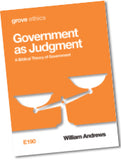 E 190 Government as Judgment: A Biblical Theory of Government