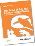E 196 The Book of Job and Environmental Ethics: The Message from the Whirlwind