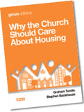 E 200 Why the Church Should Care  About Housing
