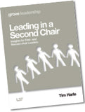 L 37 Leading in a Second Chair: Insights for First-  and Second-chair Leaders