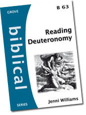 B 63 Reading Deuteronomy