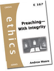 E 167 Preaching—With Integrity