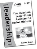 L 10 The Quantum Leap—From Assistant to Senior Minister: Reflections on Navigating the Jump