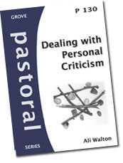 P 130 Dealing with Personal Criticism