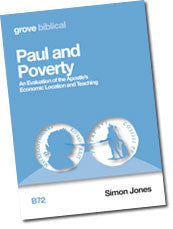 B 72 Paul and Poverty:  An Evaluation of the Apostle's Economic Location and Teaching
