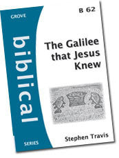 B 62 The Galilee that Jesus Knew