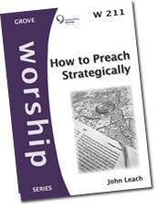 W 211 How to Preach Strategically