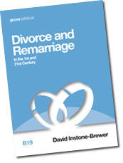 B 19 Divorce and Remarriage in the 1st and 21st Century