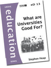 eD 13 What are Universities Good For?
