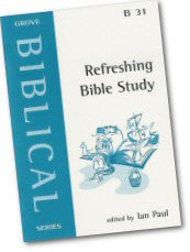 Cover: B 31 Refreshing Bible Study