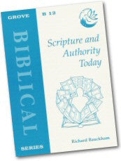 Cover: B 12 Scripture and Authority Today