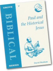 Cover: B 7 Paul and the Historical Jesus